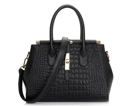 ZXH neue Lederhandtaschen große Tasche Mode Damen Schultertasche Handtasche Diagonale Paket C vJHgWm5jBu