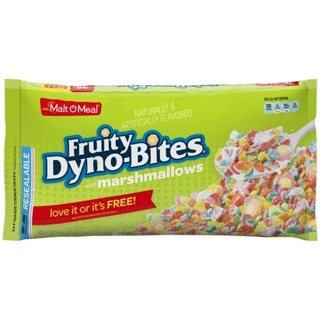 Malt-O-Meal, Fruity Dyno-Bites, Marshmallows, 35 Oz, Bag - 5 ()