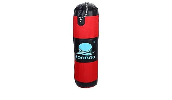 Amazon.com : eDealMax ZOOBOO autorizado de entrenamiento de boxeo Kickboxing ejercicio pesado Bolsa de Formación de perforación vacío 80cm Altura Red w ...