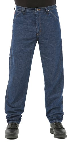 a25efa9612ee86 Wrangler Men's 20X Carpenter Jean, Relaxed Fit, Pure Blue, 28W x 34L ...