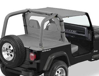 1989 Parts Jeep - Strapless Bikini Black 1987-1991 Jeep YJ Wrangler 52509-01