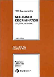 American based case casebook discrimination material series sex text