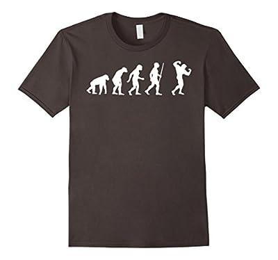 Bodybuilding Human Evolution Funny Tshirt