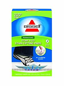 BISSELL Stomp 'N Go Stain Lifting Pads, 96Q9W