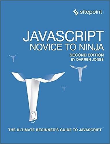 JavaScript: Novice to Ninja: Darren Jones: 9780995382626 ...