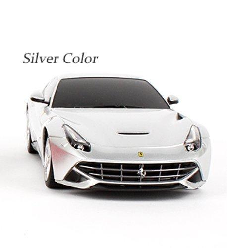 1:18 Scale Ferrari F12 Model RC Car (COLOR: SILVER)