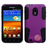 ASMYNA Purple/Black Astronoot Phone Protector Cover compatible with Samsung D710 , R760 , Galaxy S II 4G