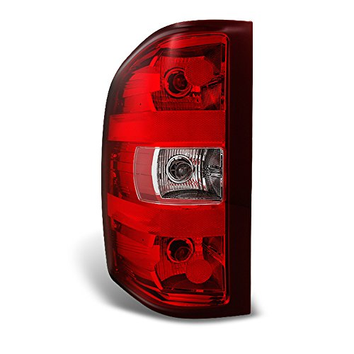 ACANII - For 2007-2013 Chevy Silverado 1500 2500 3500 Rear Replacement Tail Light - Driver Side Only