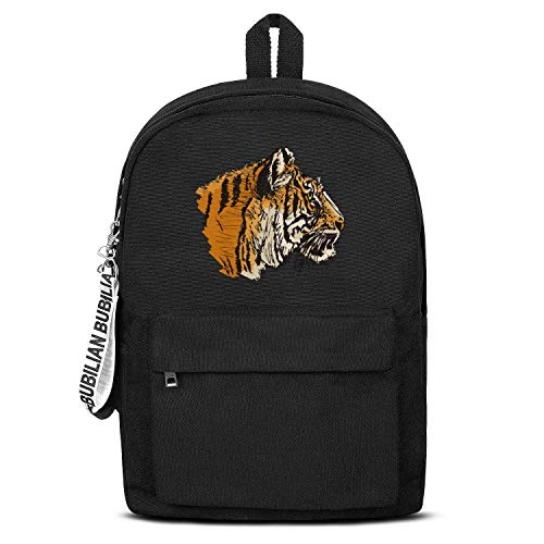 Tigers Eye Unisex Canvas Backpack Design Satchel School Backpack for Girls Boys