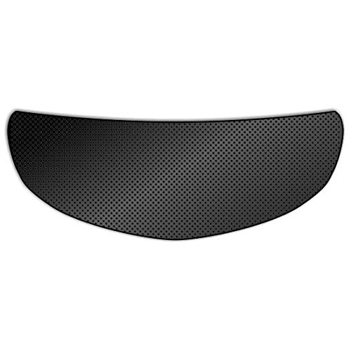 - Solid Black Universal Full Face Motorcycle Helmet Windscreen Graphic Visor Tint Shield Sticker Decal