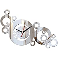 EverTrust(TM) new hot clocks horloge watches than large decorative clock modern Needle acrylic 3d diy wall stickers
