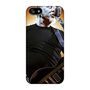 Protective Hard Cell-phone Case For Iphone 5/5s (Pet17803lmsA) Customized Stylish Metallica Band Skin