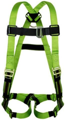 Miller by Honeywell P950D-4//UBL Duraflex Python Full-Body Ultra Harness with Mating Buckle Chest Strap Universal Blue Sperian Protection Group