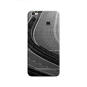 Cover It Up - Highway BW V5 Hard Case