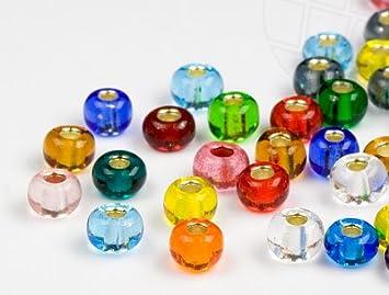 Fabulous Rocailles Perlen   4.5mm, Color Mix, 1000 Stück: Amazon.de: Küche QI21