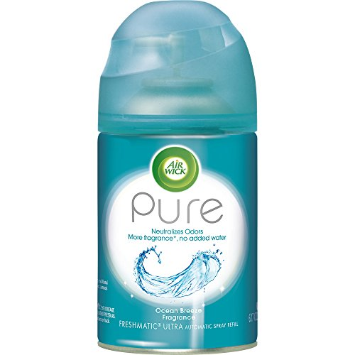 Air Wick Pure Freshmatic Refill Automatic Spray, Ocean Breeze, 6.17oz, Air Freshener