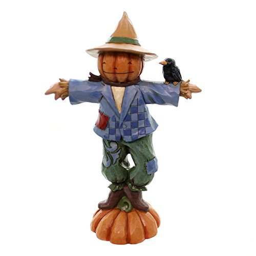 Jim Shore for Enesco Heartwood Creek Pint Sized Scarecrow Figurine, ()