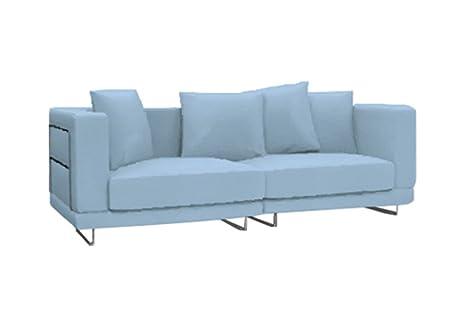 Herzers Stoffbezug Für Ikea Tylösand 3er Sofa Hellblau Amazonde