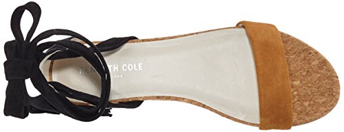 Valen Donna Black Sandali Umber Multicolore Kenneth Cole 909 con Zeppa n5qwXHa