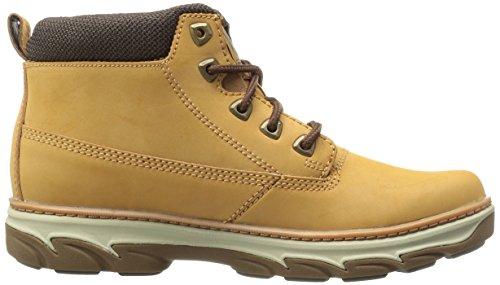 Skechers Usa Mens Resment Alento Chukka Boot Wheat