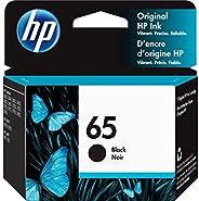 HP 65 | Ink Cartridge | Works with HP Deskjet 2600 Series, 3700 Series, HP ENVY 5000 Series, HP AMP 100, 120,