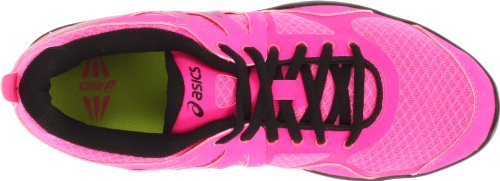 Asics Gel-Sustain TR - Zapatillas de running de sintético para mujer Hot Pink/Black/White rosa - rosa
