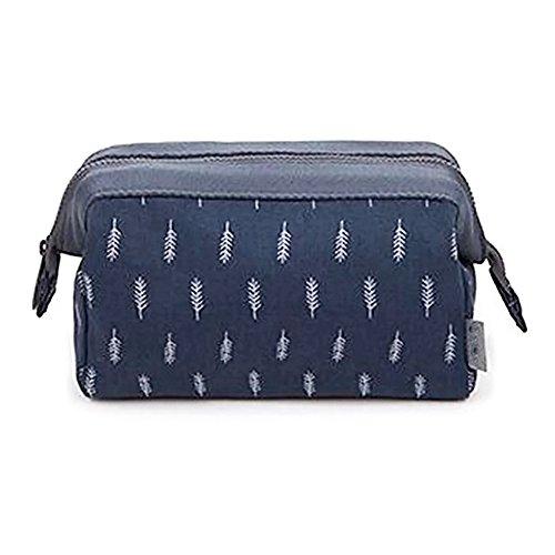 sacchetto per Borsa immagazzinaggio Deep di per archiviazione Surenhap Blue e a pacchetto portatile di cosmetici Flamingo mano Borsa ragazze donne Borsa 5wqwOF0