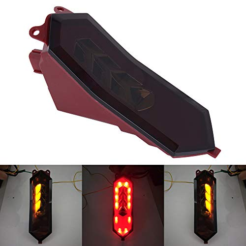 (AnXin Motorcycle Rear Tail Light Integrated LED Brake Signal Lights For YAMAHA YZF-R6 2017-2019 2018 YZF-R1/R1M/R1S 2015-2019 2016 2017 2018)