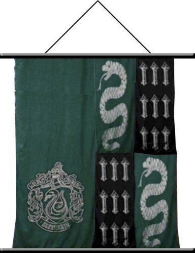 "NECA Harry Potter Slytherin Wall Scroll 22"" x 32"""