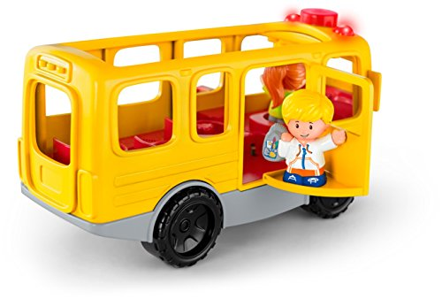 41BFeH9ZbLL - Fisher-Price Little People Sit with Me School Bus Vehicle