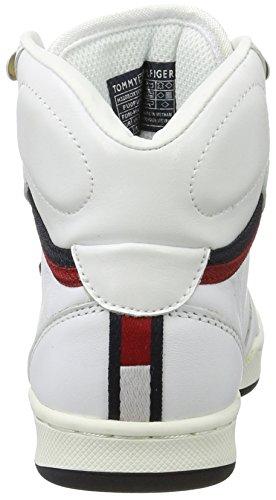 4a Enfant Jr White Mixte Blanc H3285oxton Basses Sneakers Tommy Hilfiger f06Wtt