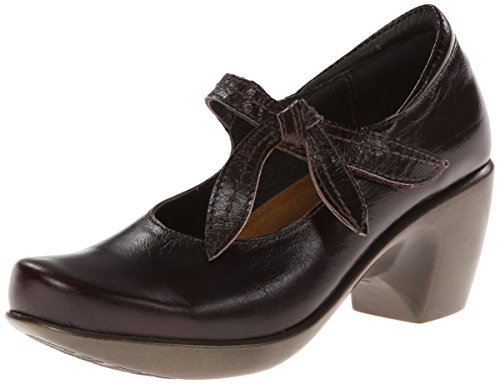 Naot Kvinna Nöje Läder Mary Jane Skor Espresso Läder