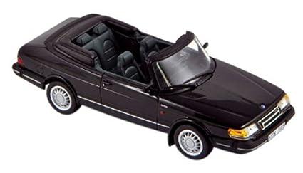 Norev 1/43 Saab 900 Cabriolet Turbo 1991 black
