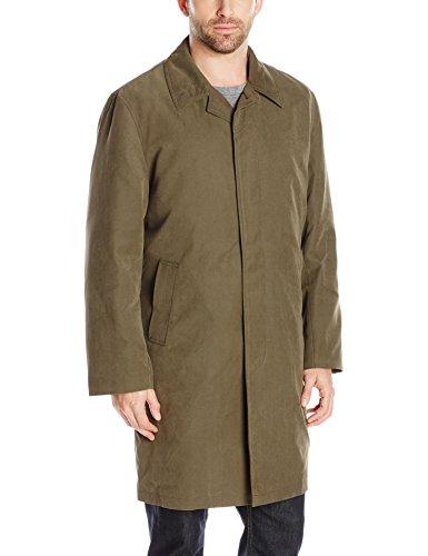 - London Fog Men's Durham Rain Coat with Zip-Out Body, Covert, 44 Short