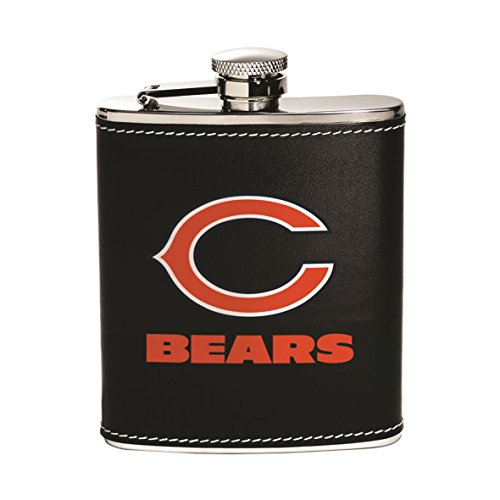 Chicago Bears Flask - Boelter Brands NFL Stainless Steel Flask