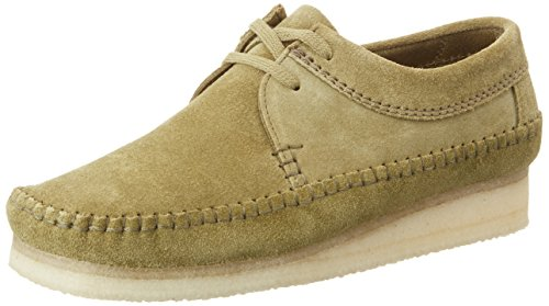 Green Weaver Uomo Stringate Weaver Clarks Originals Scarpe Forest Stringate Originals Verde Scarpe Clarks 6q7waY