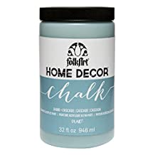 FolkArt Home Decor Chalk Furniture & Craft Paint in Assorted Colors, 32 oz, 34880 Cascade
