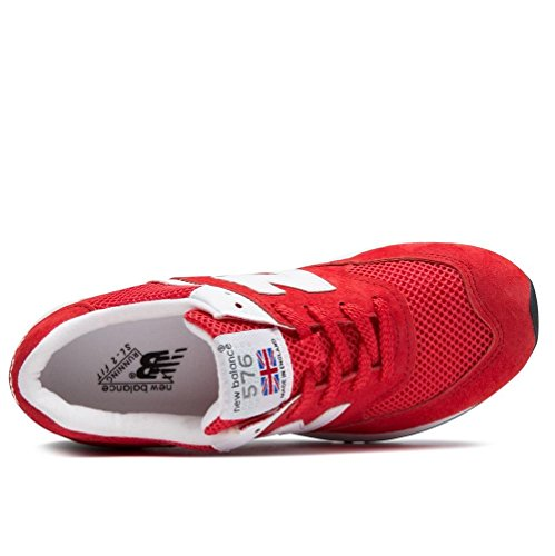 37 W576 RED RR New Chaussures balance Femme WHITE pOFzq