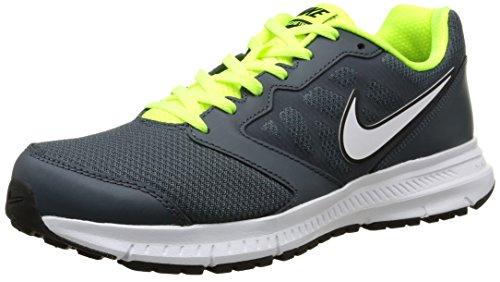 Nike Herren Downshifter 6 Laufschuhe Dunkler Magnet Grau / Volt / Weiß