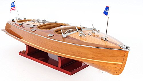 Chris Craft Triple Cockpit Wooden Model 24