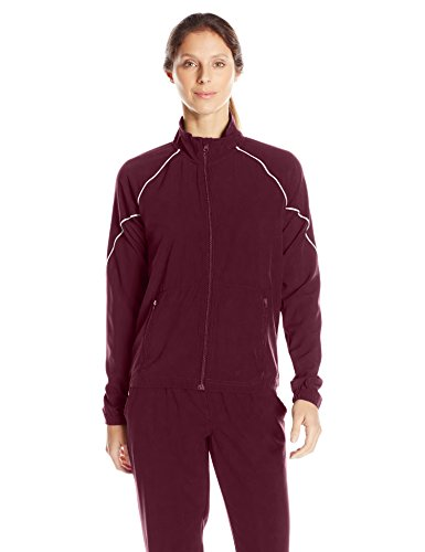 Soffe Women's Game Time Warm Up, Maroon, Large