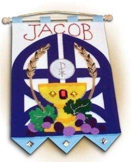 Banner decorativo para comunión