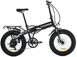 Tucano Bikes Monster HB Bicicleta Eléctrica Plegable, Gris ...