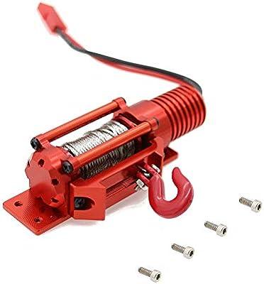 Kletteranhänger Abschlepphaken Schnalle für 1//10 RC Car Axial SCX10 D90 Crawler