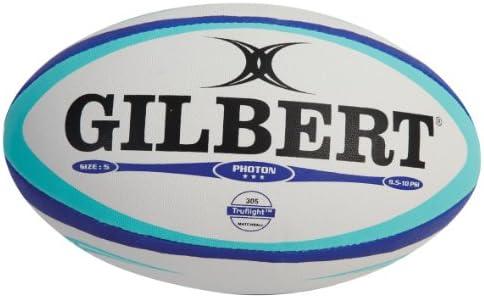 Gilbert Photon - Balón de Rugby para Hombre, tamaño 4, Color Azul/Azul: Amazon.es: Deportes y aire libre