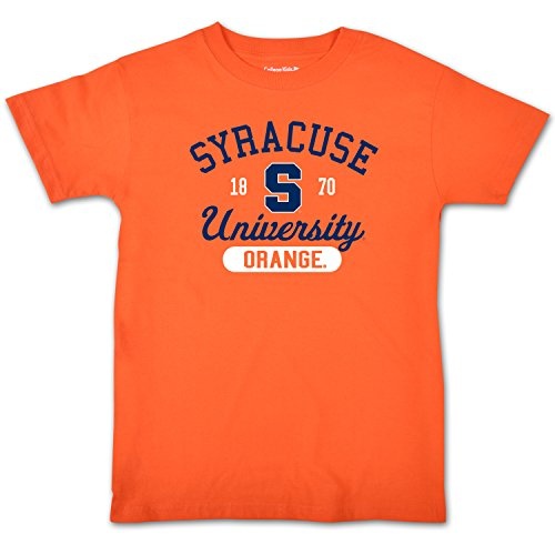 NCAA Syracuse Orange College Kids Youth Short Sleeve Tee, 7/X-Small, - Syracuse Youth Orange T-shirt