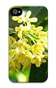 iPhone 4 4S Case August Osmanthus 3D Custom iPhone 4 4S Case Cover