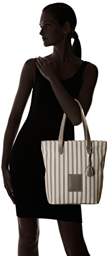 Timberland TB0M3150, Shopper y Bolso de Hombro Mujer, 11 x 37 x 30 cm Gris (PALOMA PRINT)