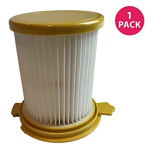 - Dirt Devil F12 Long-Life HEPA Filter; WASHABLE & REUSABLE; Compare to Dirt Devil Part# 3KD1680000, 3-KD1680-000 F12 Vision Canister Filter; Designed & Engineered by Crucial Vacuum