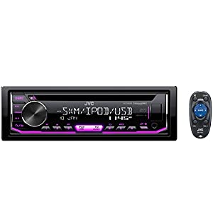 JVC KD-R690S CD Receiver featuring Front USB/AUX Input/Pandora/SiriusXM Ready/Variable Illumination